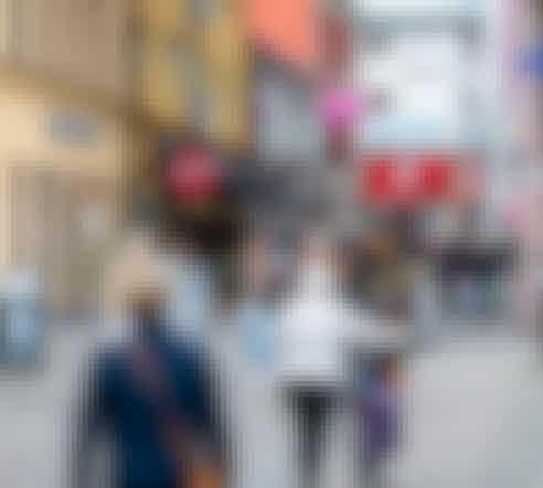 Östra Hamngatan 16-18, Falun, Butik